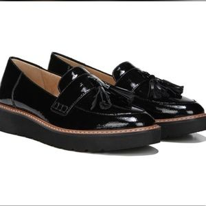 Naturalizer Black Patent Tassel Loafer